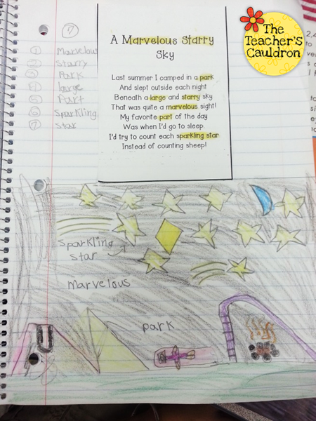 http://theteacherscauldron.blogspot.com/2014/02/candy-math-geometry-and-phonics-poetry.html