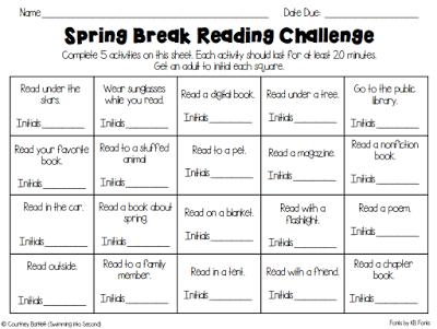 https://www.teacherspayteachers.com/Product/Spring-break-reading-challenge-freebie-1753720