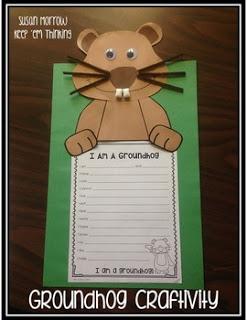 https://www.teacherspayteachers.com/Product/Groundhog-Day-Craftivity-FREE-1653531